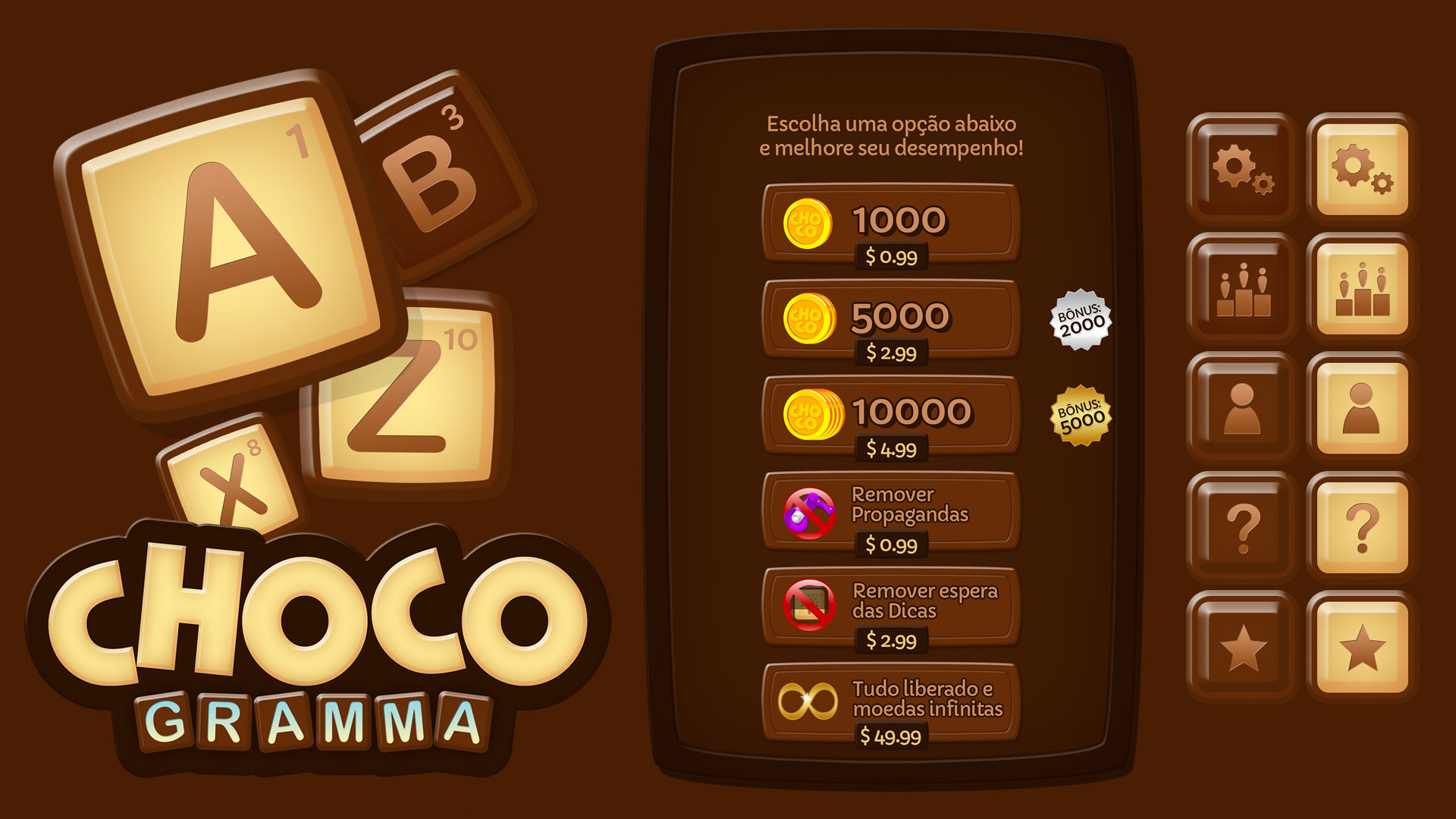ChocoGramma Game